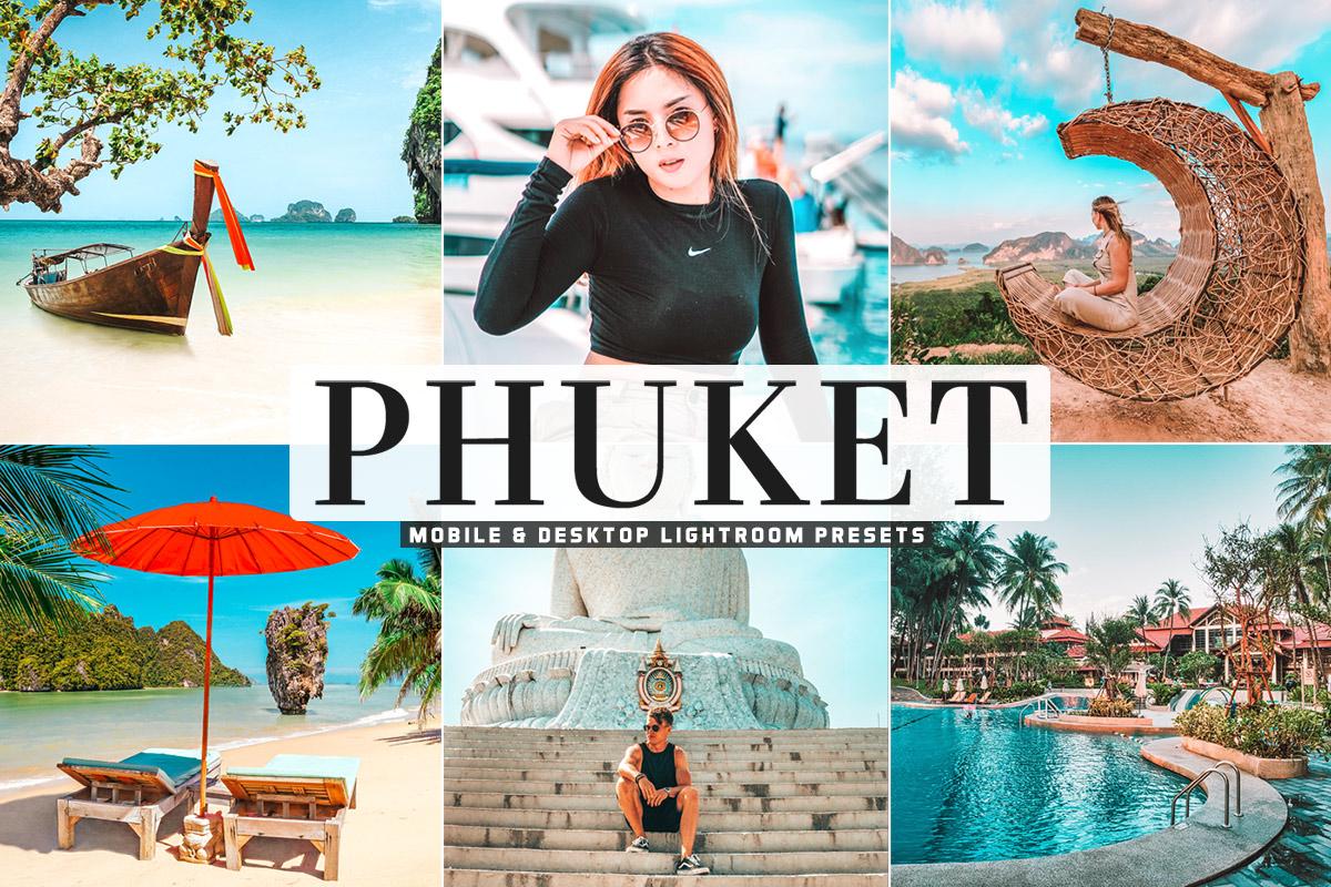 Free Phuket Lightroom Presets