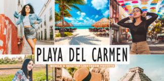 Free Playa del Carmen Lightroom Presets