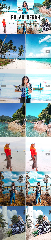 Free Pulau Merah Lightroom Presets