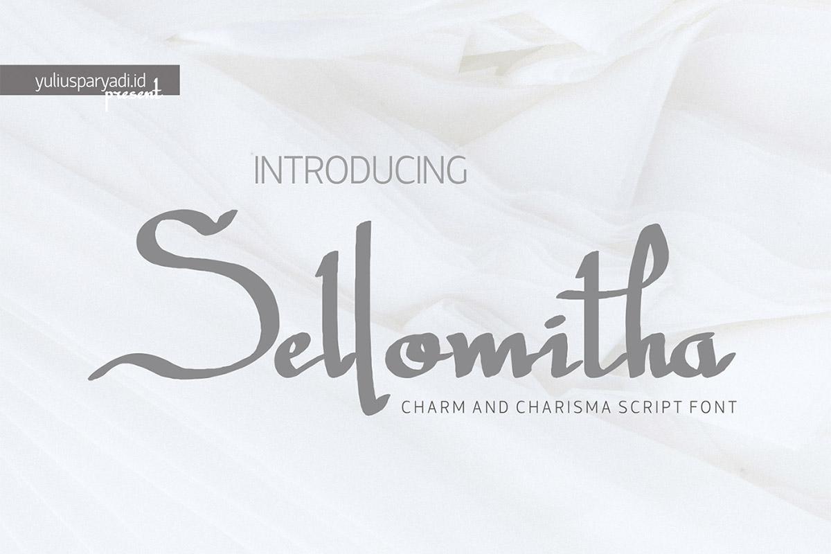 Free Sellomitha Script Font