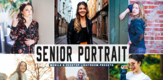 Free Senior Portrait Lightroom Presets