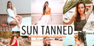Free Sun Tanned Lightroom Presets