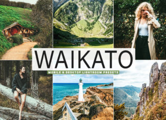Free Waikato Lightroom Presets