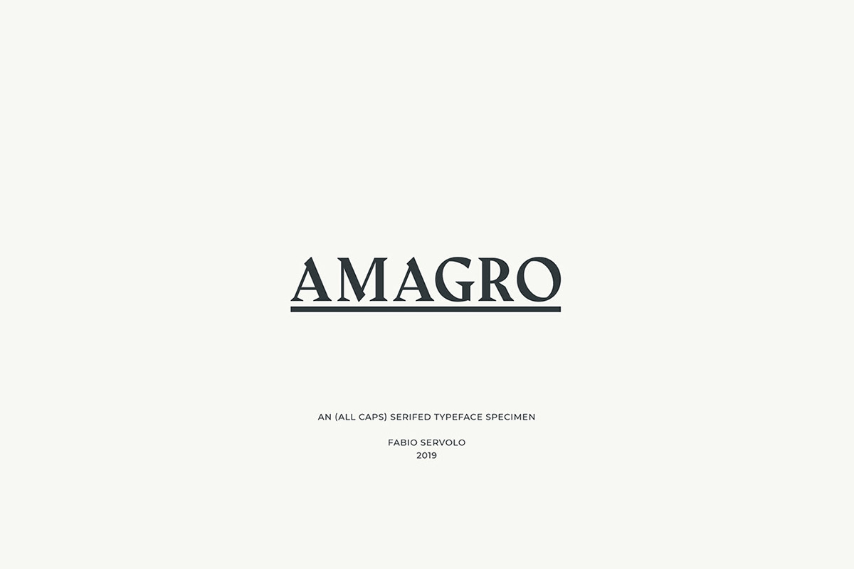 Free Amagro Serif Font
