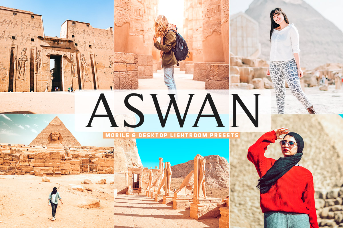 Free Aswan Lightroom Presets