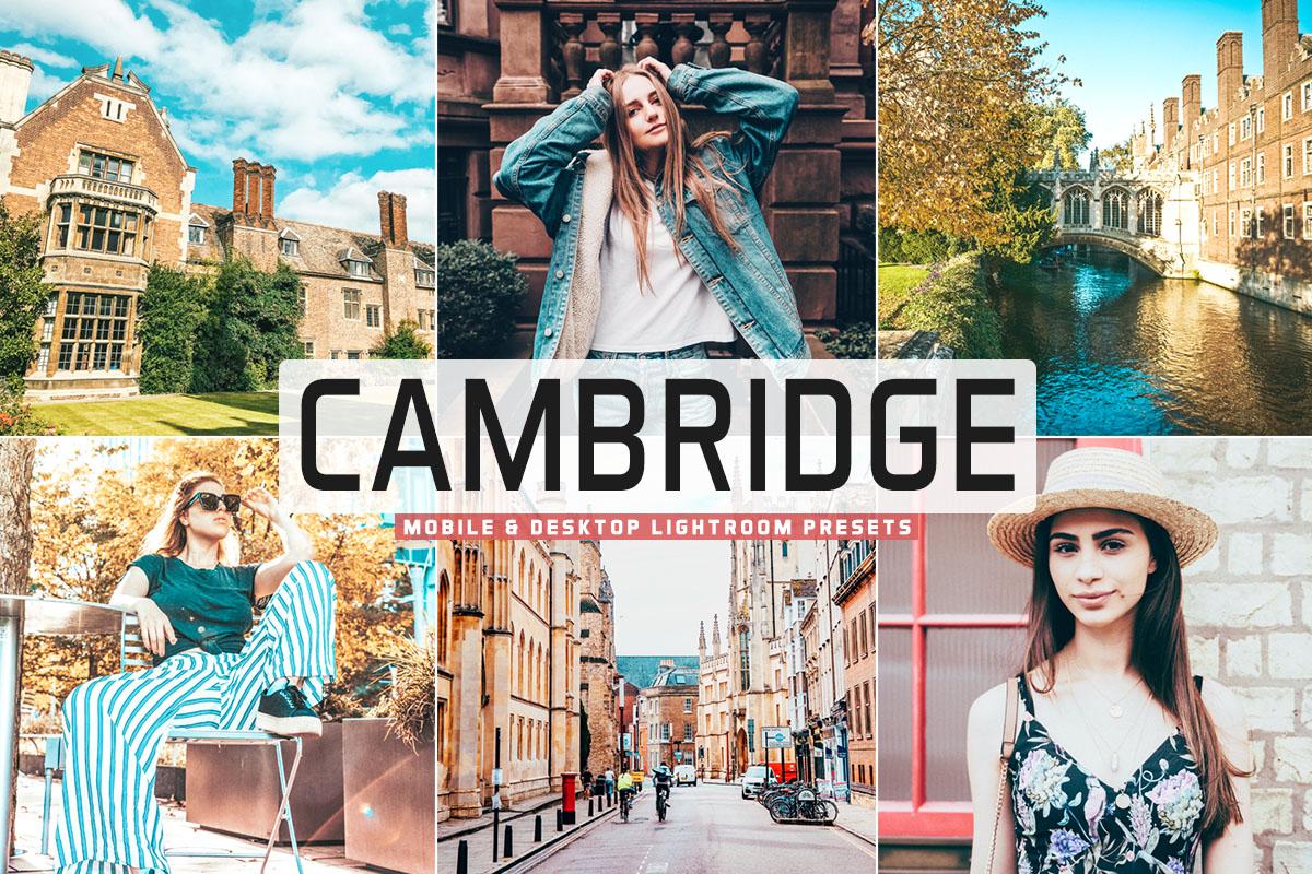 Free Cambridge Lightroom Presets
