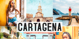 Free Cartagena Lightroom Presets