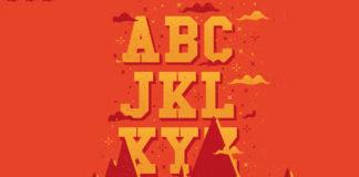 Free Gryffindor Alphabet Fancy Font