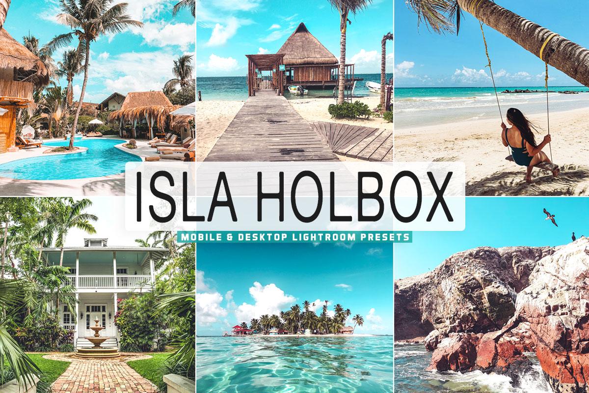 Free Isla Holbox Lightroom Presets