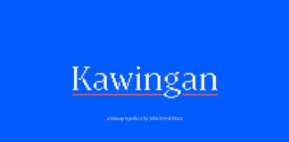 Free Kawingan Serif Font