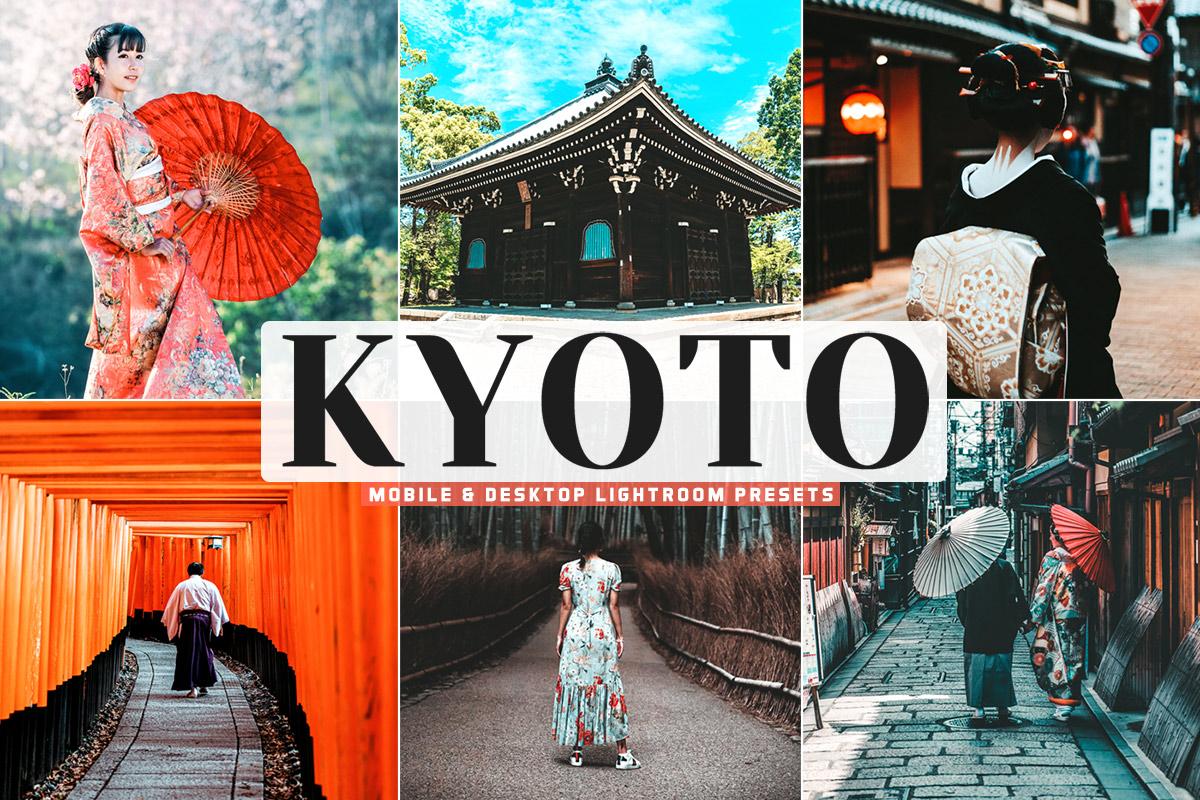 Free Kyoto Lightroom Presets