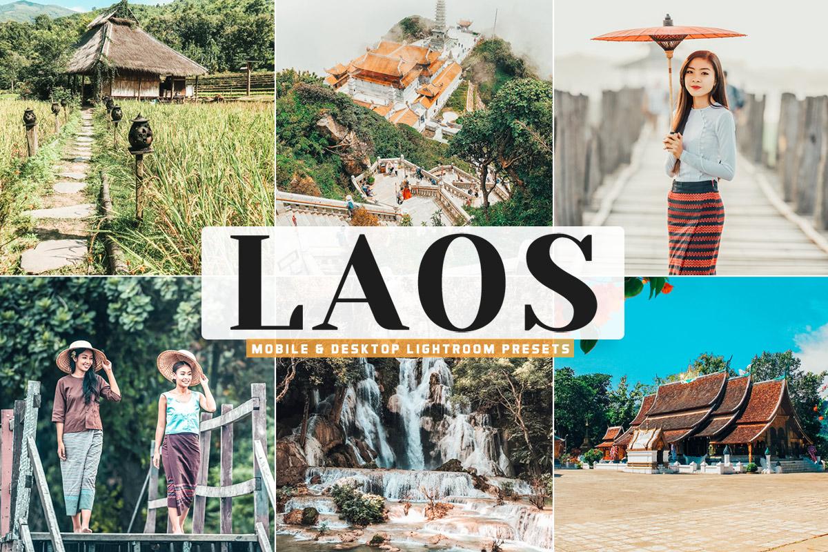 Free Laos Lightroom Presets