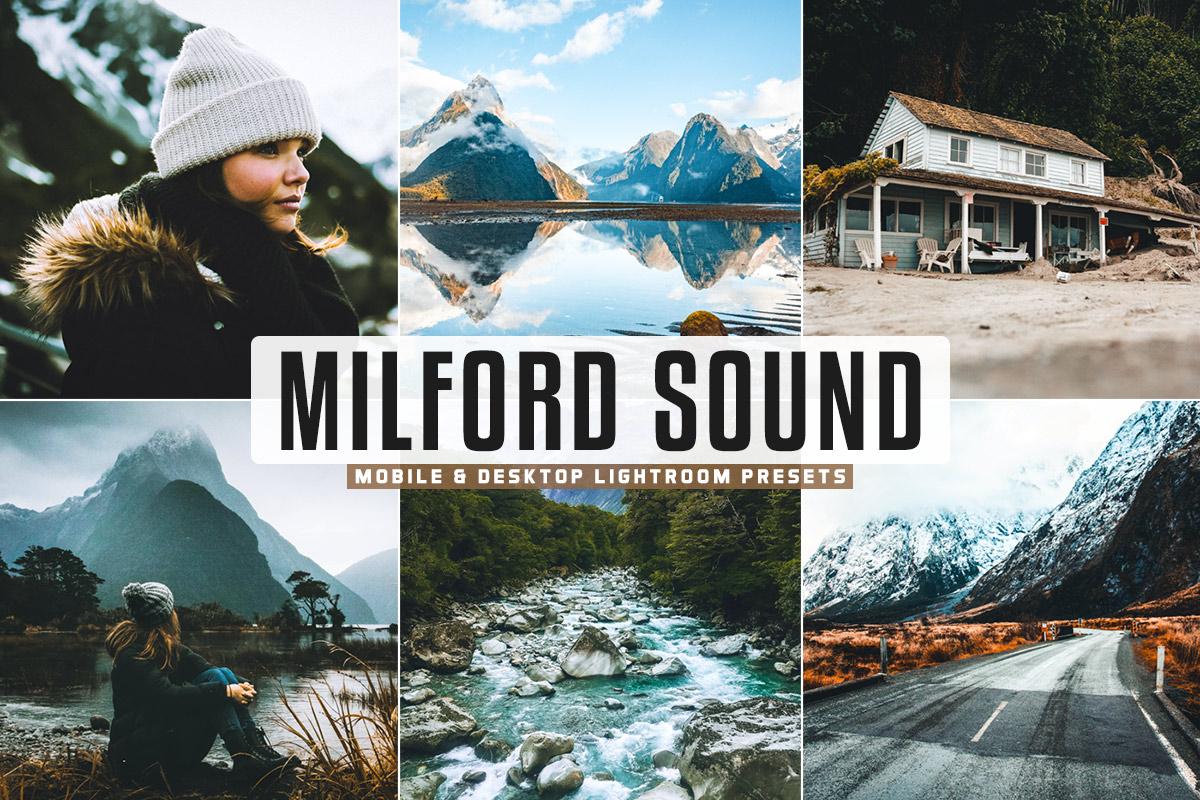 Free Milford Sound Lightroom Presets