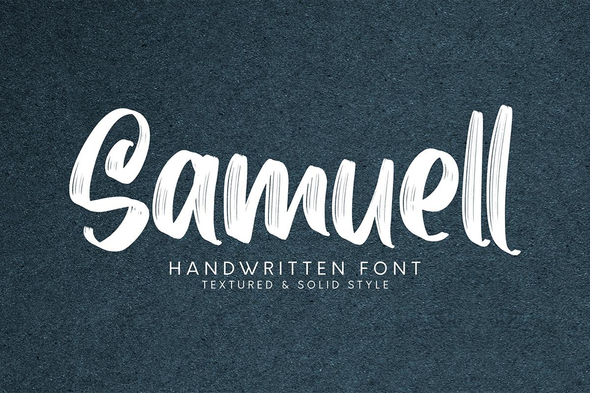 Free Samuell Handwritten Font