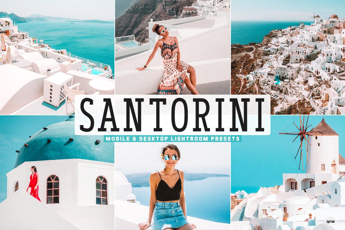 Free Santorini Lightroom Presets