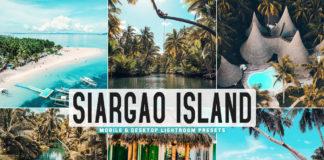 Free Siargao Island Lightroom Presets