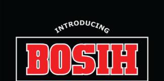 Free Bosih Slab Serif Font