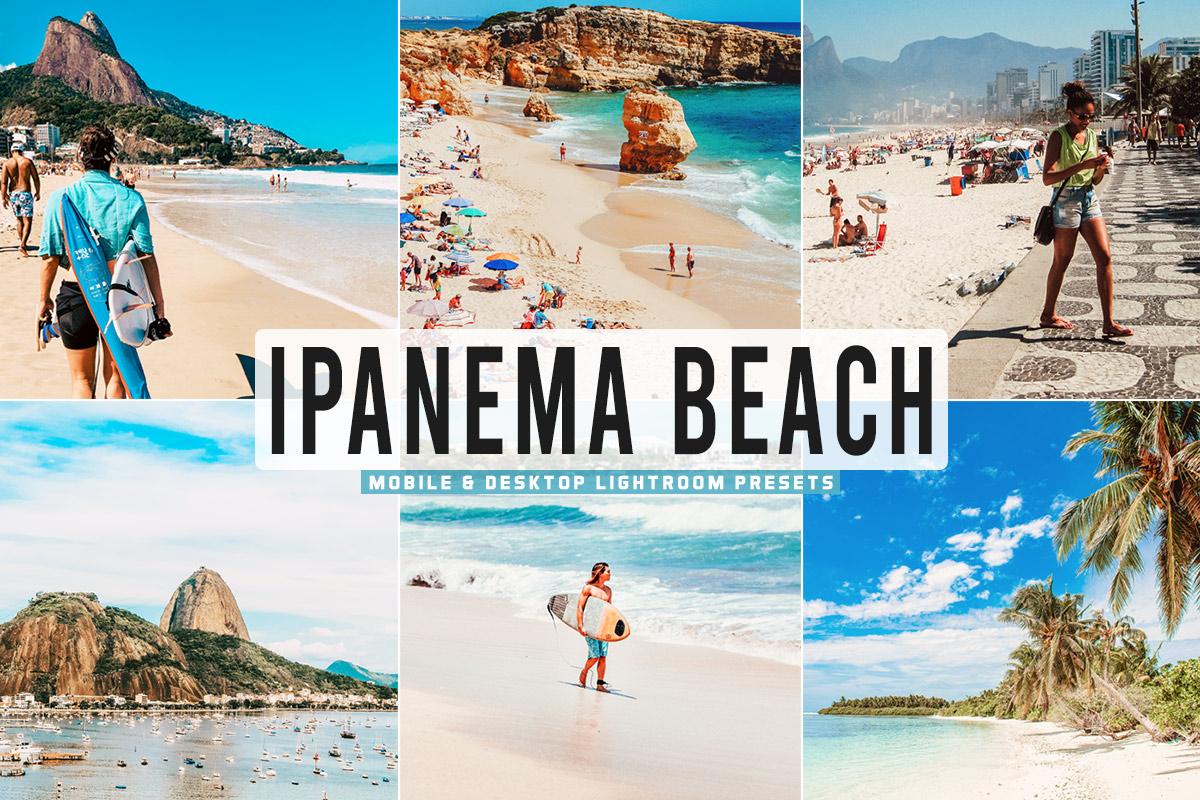 Free Ipanema Beach Lightroom Presets
