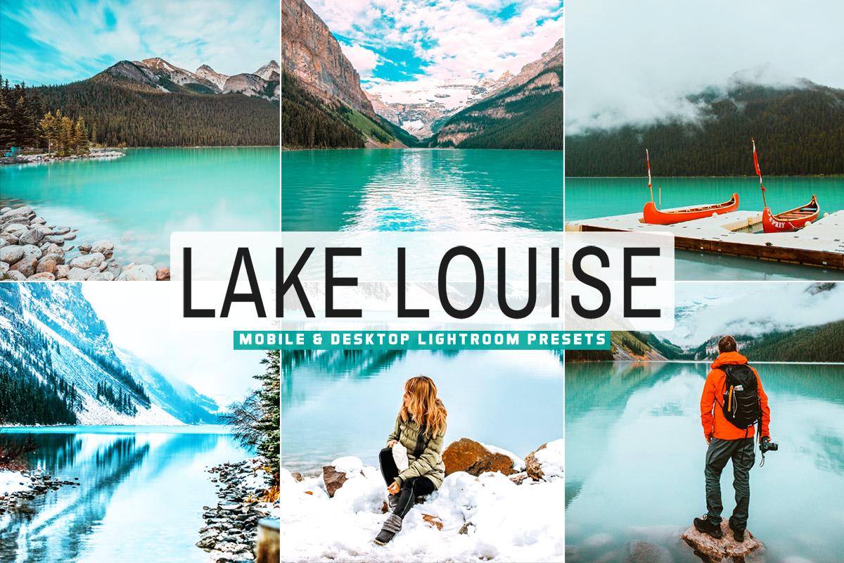 Free Lake Louise Lightroom Presets