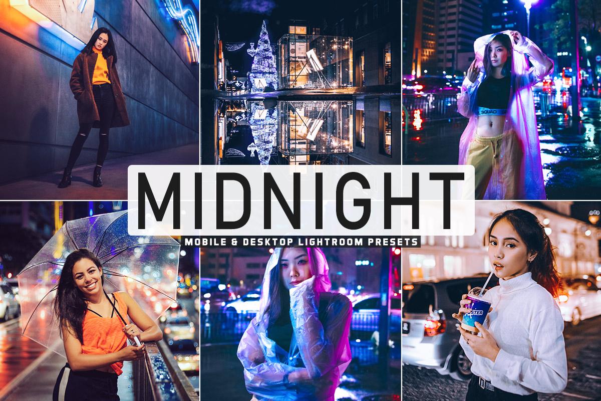 Free Midnight Lightroom Presets