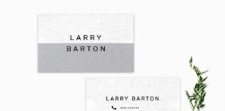 Free Minimalist Business Card Template