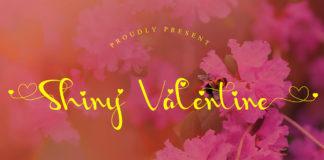 Free Shiny Valentine Script Font