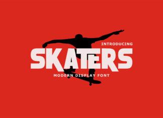 Free Skaters Display Font