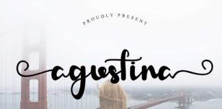 Free Agustina Handwritten Font