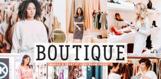 Free Boutique Lightroom Presets