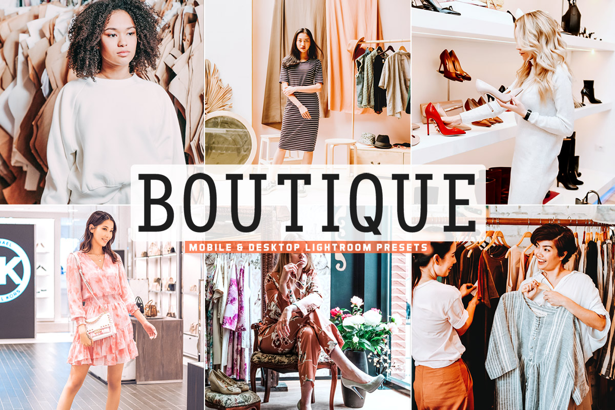 Free Boutique Lightroom Presets