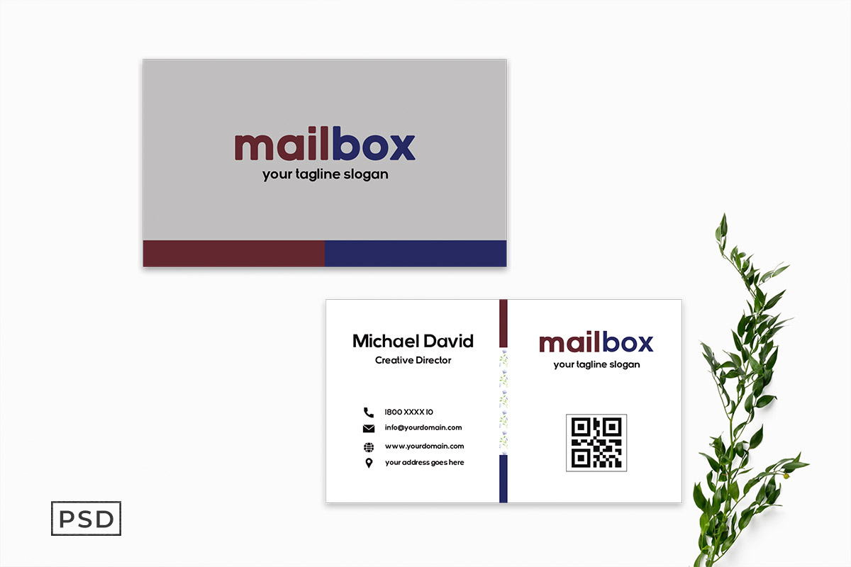 Free Innovative Business Card Template