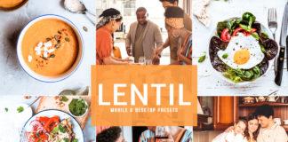 Free Lentil Lightroom Presets