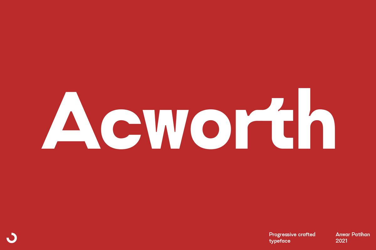 Free Acworth Sans Serif Font
