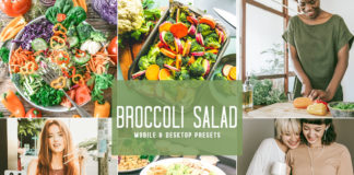 Free Broccoli Salad Lightroom Presets