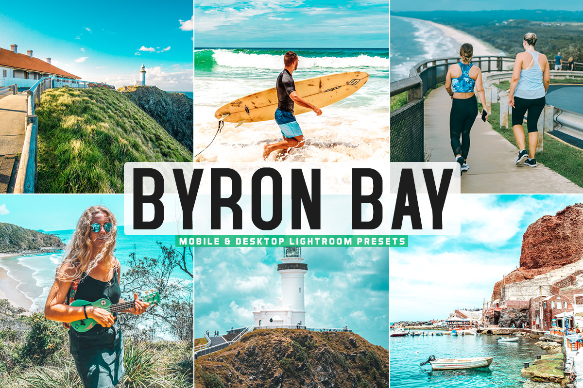 Free Byron Bay Lightroom Presets