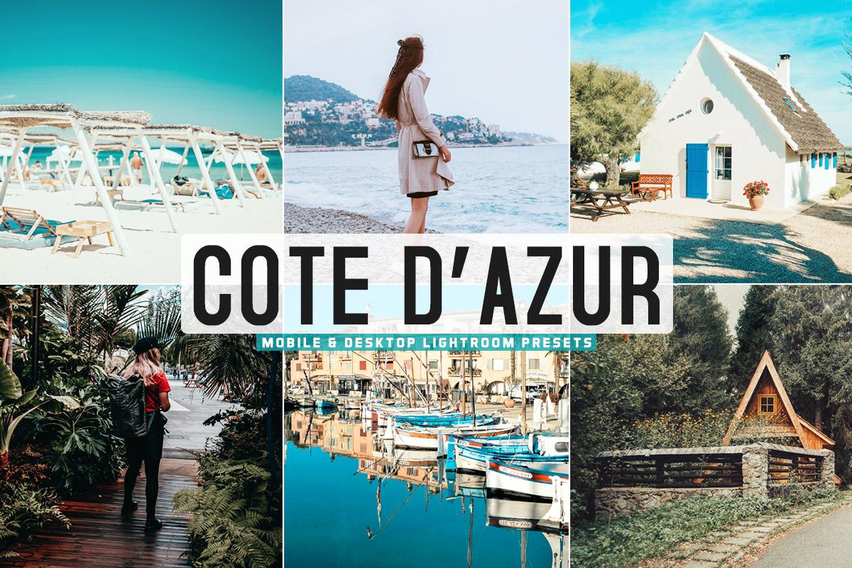 Free Cote D'Azur Lightroom Presets