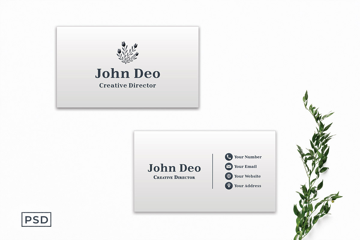 Free Creative Business Card Template V2
