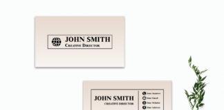 Free Creative Sober Business Card Template