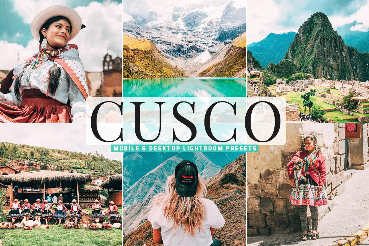 Free Cusco Lightroom Presets