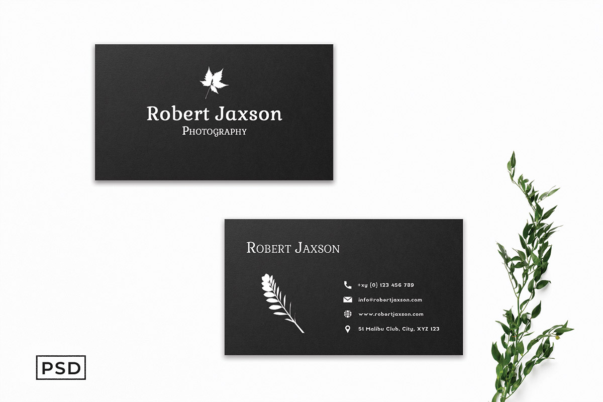 Free Floral Business Card Template
