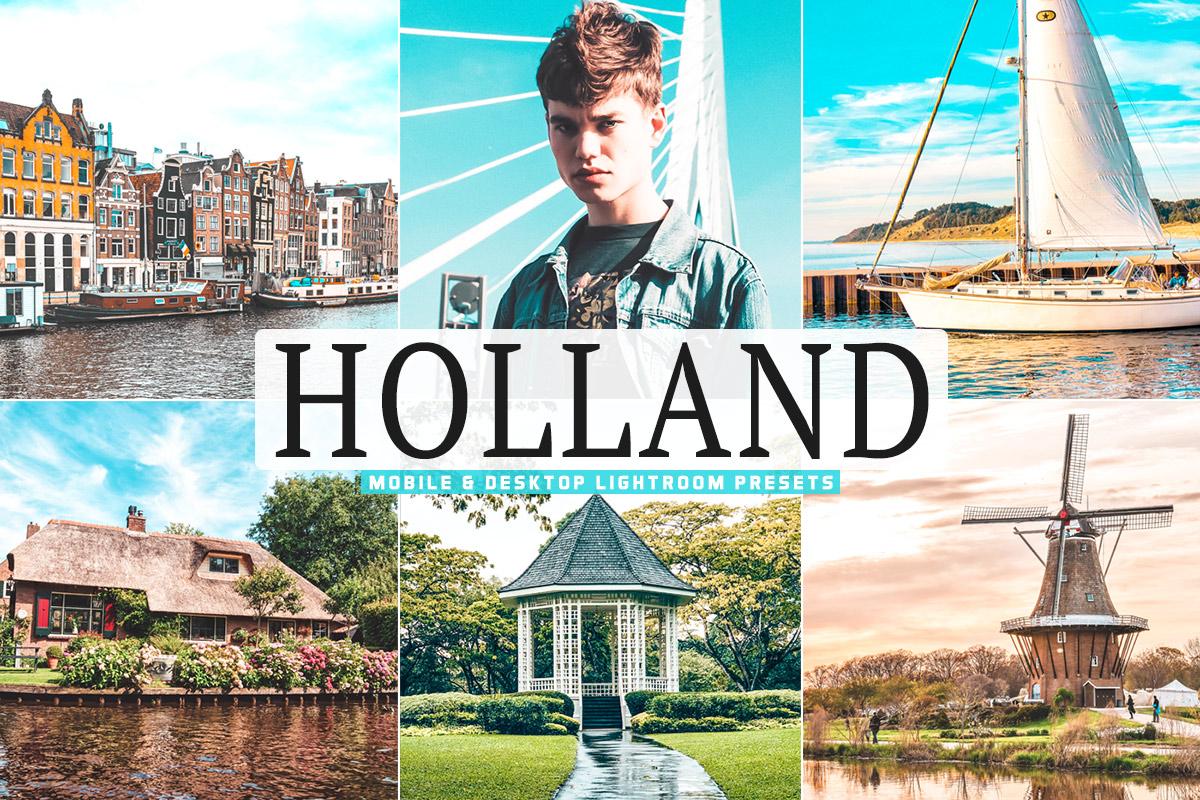 Free Holland Lightroom Presets