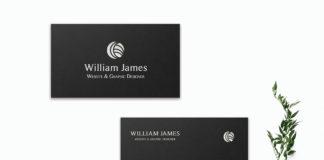 Free Innovative Business Card Template V2