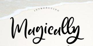 Free Magically Handwritten Font