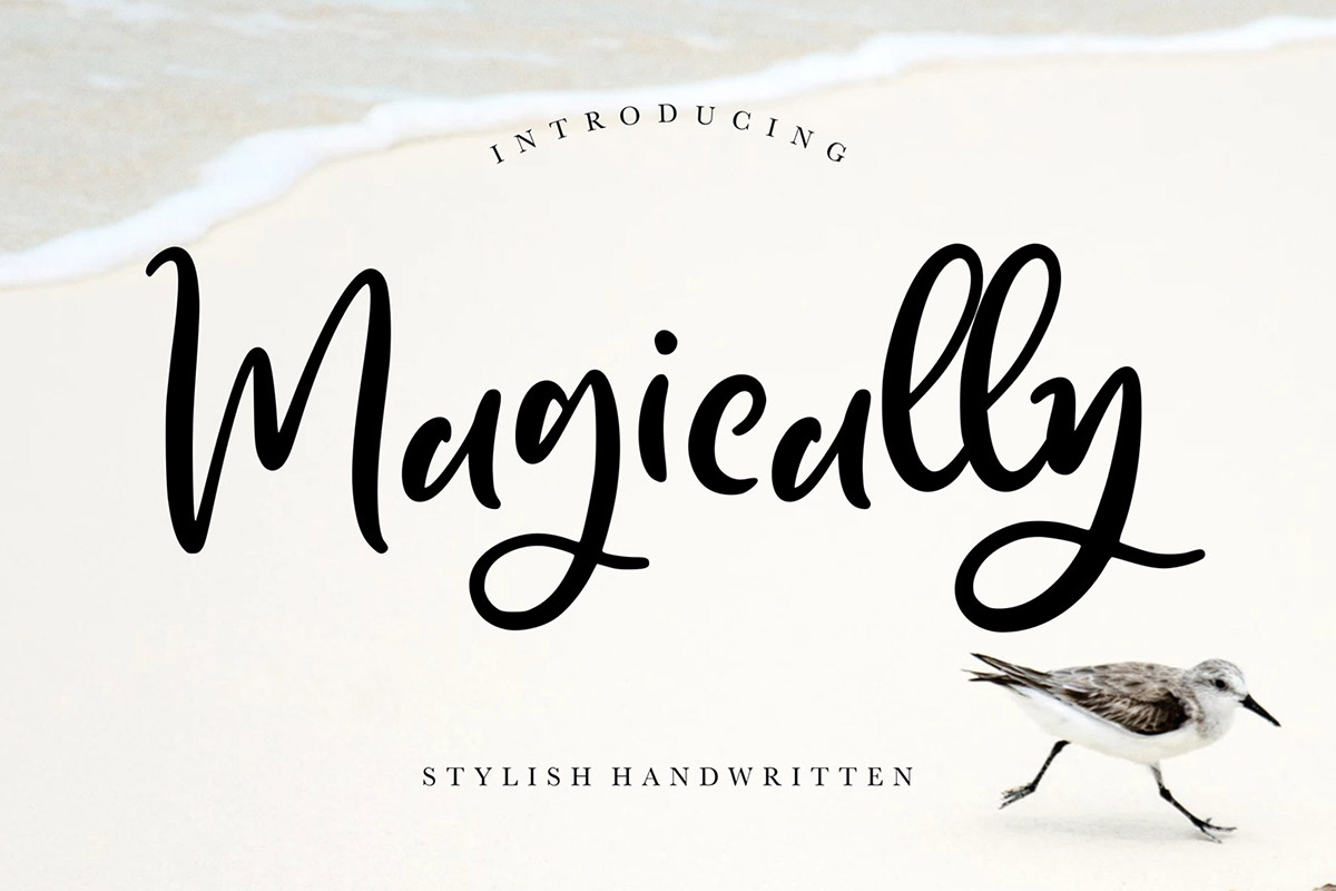 Free Magically Handwritten Font