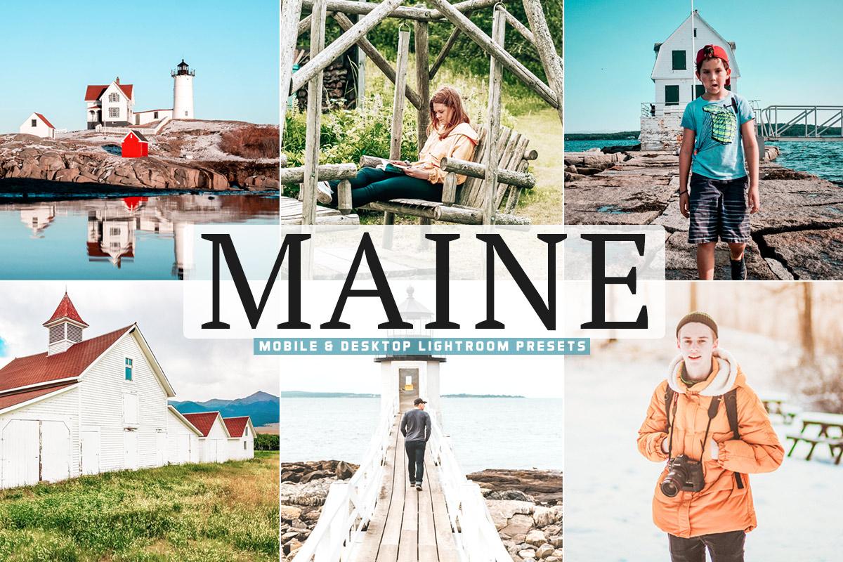 Free Maine Lightroom Presets