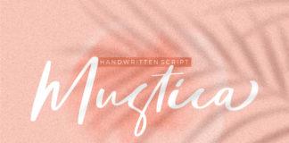 Free Mustica Handwritten Script Font
