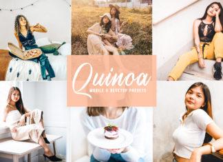 Free Quinoa Lightroom Presets