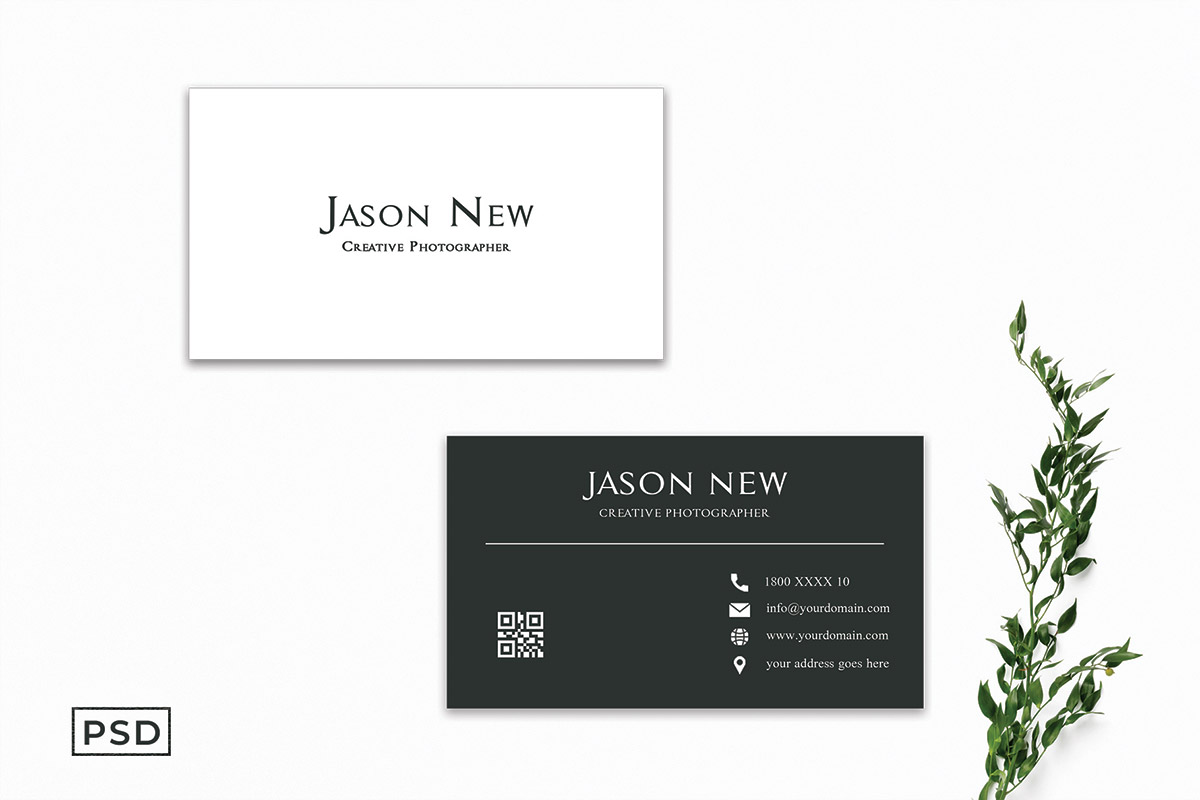 Free Simple Modern Business Card Template