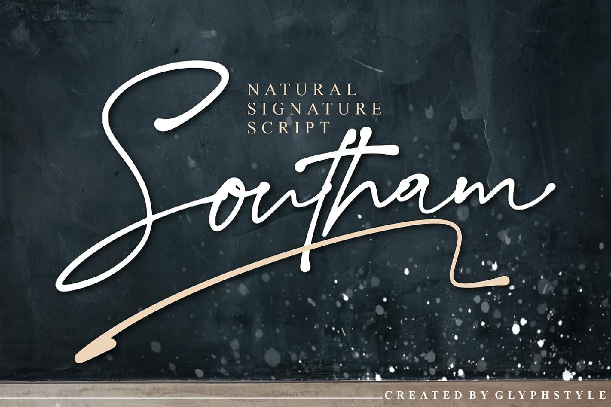 Free Southam Script Font
