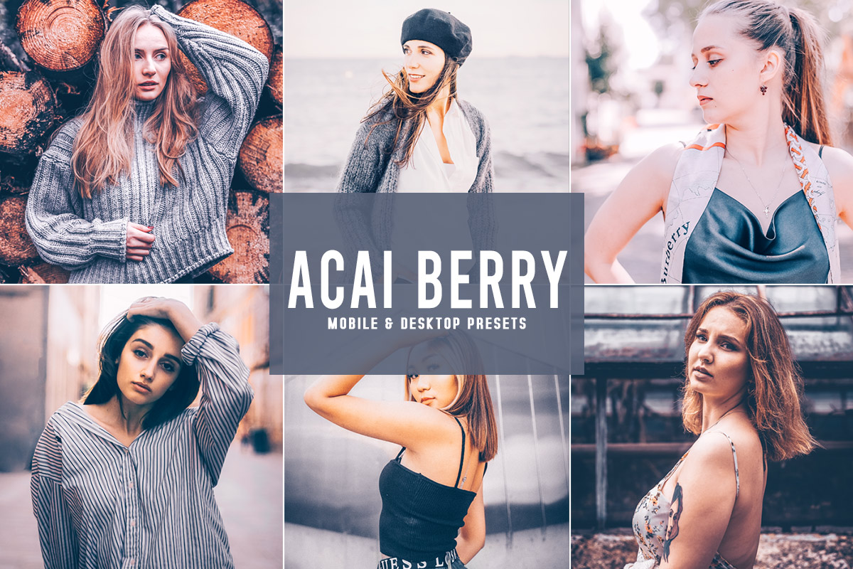 Free Acai Berry Lightroom Presets